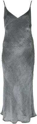 CHRISTOPHER ESBER V-neck slip dress