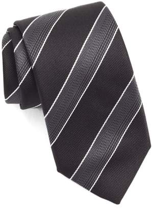 BOSS Diagonal Stripe Silk Tie