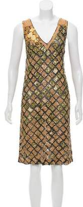 Dries Van Noten Sleeveless Embellished Dress