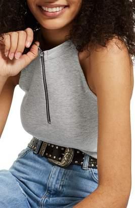 Topshop Zip Front Bodysuit