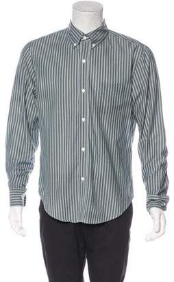 Band Of Outsiders Striped Dress Shirt