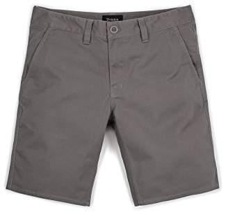 "Brixton Men's Toil Ii 20"" Standard Fit Hemmed Chino Short"