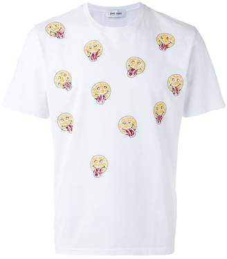Jimi Roos smiley face print T-shirt