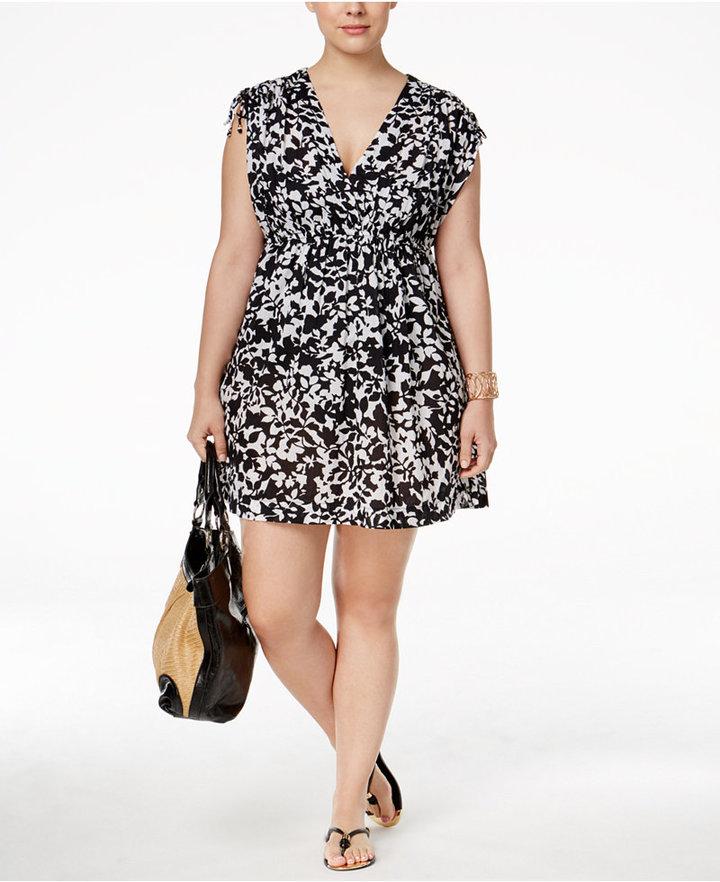 Lauren Ralph LaurenLauren Ralph Lauren Plus Size Regent Floral Farrah Cover-Up
