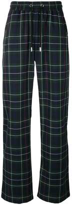 Blood Brother plaid track pants