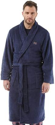 1d8bd7a803 Ben Sherman Henry Fleece Robe Navy