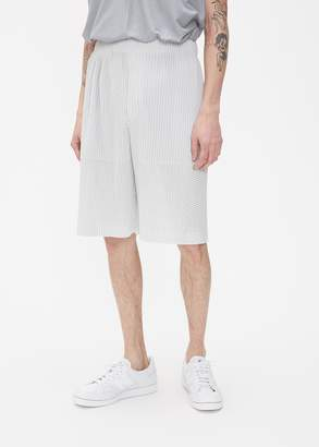 Issey Miyake HOMME PLISSÉ Outer Mesh Short