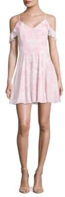 Amanda Uprichard Tate Cold Shoulder Dress
