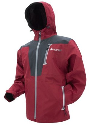 frogg toggs Frogg Toggs Rockslide Jacket Red Carbon Large