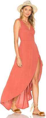 LSPACE L*SPACE Twilight Wrap Dress in Pink $139 thestylecure.com