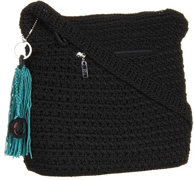 The Sak Classic Large Marlboro (Black) - Bags and Luggage