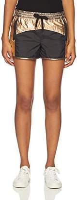 Pam & Gela Women's Nylon Coloblock Short