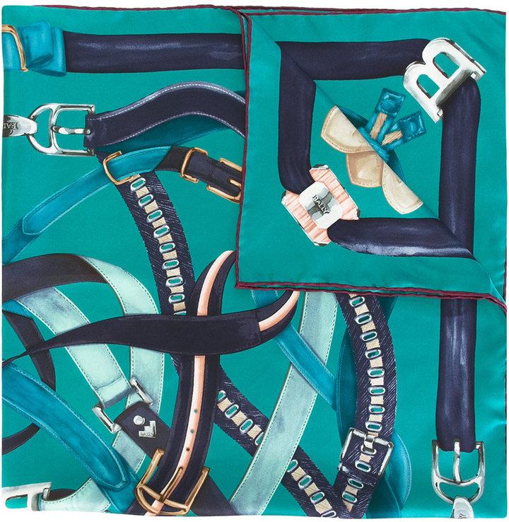 BallyBally belt print scarf