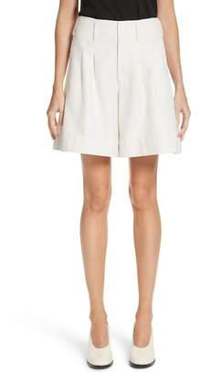 Co Sparkle Woven Wide Leg Shorts