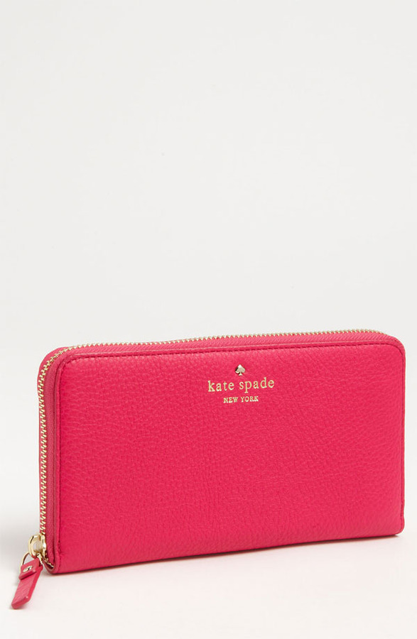 Kate Spade 'cobble Hill - Lacey' Zip Around Wallet