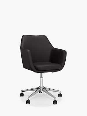 John Lewis & Partners Reid Faux Leather Office Chair