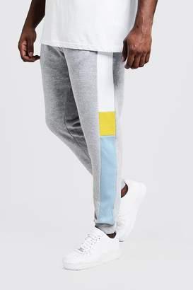 Big & Tall Colour Block Skinny Fit Jogger