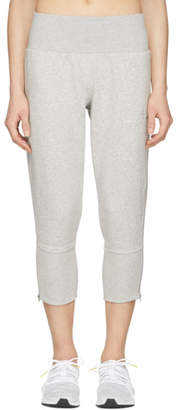 adidas by Stella McCartney Grey Essentials 3/4 Zip Sweatpants