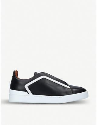 Ermenegildo Zegna XXX leather trainers