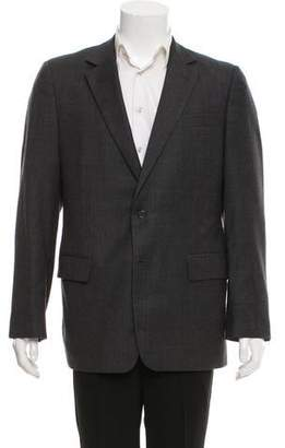 Saint Laurent Notch-Lapel Two-Button Suit