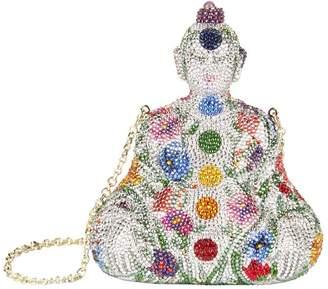 Judith Leiber Buddha Minaudière Clutch