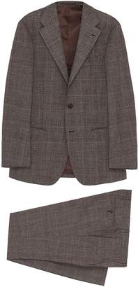 Ring Jacket '269E' check plaid wool suit