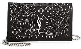 Saint Laurent Women's Bandana Wallet-On-Chain