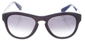 Lanvin Gradient Round Sunglasses