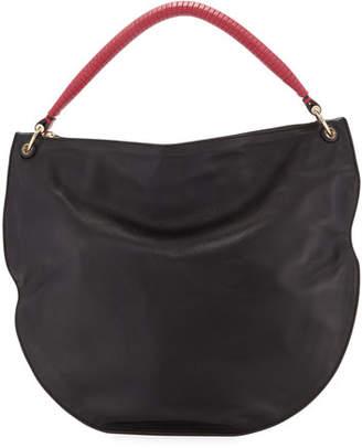 44bf85c4a Les Petits Joueurs Luna Soft Leather Hobo Bag