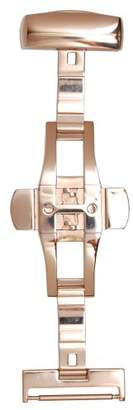 Hadley-Roma 16-mm IP Rose Gold-Plated Push Button Deployant Clasp