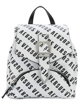 Versus logo print backpack
