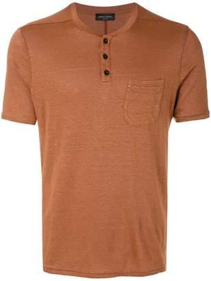 Roberto Collina button pocket T-shirt
