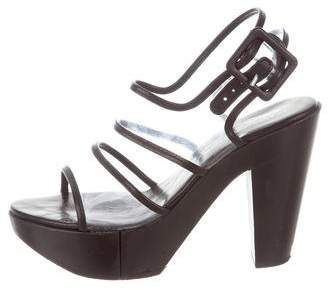 b37601f7f625f Robert Clergerie PVC Platform Sandals sale choice cheap factory outlet  lw2FYB