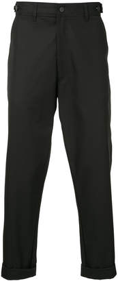 Bassike Harry straight-leg trousers