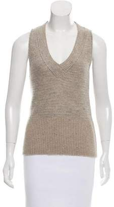 Chloé Sleeveless Wool Top