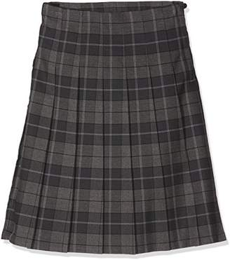 Trutex Girl's GST-CAS-L20-W38 SNR Tartan Kilt Checkered Skirt,15-16 Years (Manufacturer Size:38)