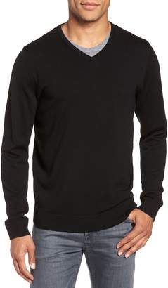 Nordstrom Washable Merino Wool V-Neck Sweater