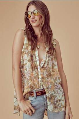 For Love & Lemons Maritza Floral Tunic