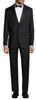 Versace Two-Piece Virgin Wool Tuxedo Suit