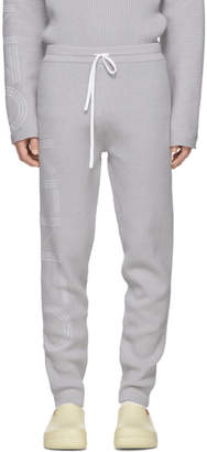 Kenzo Grey Knitted Lounge Pants