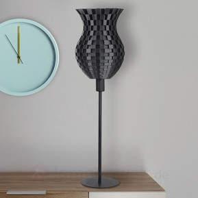 Tolle Tischleuchte Flechtwerk, 3D-Druck