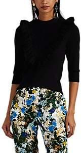 Erdem Women's Thomasine Cotton Sweater - Black
