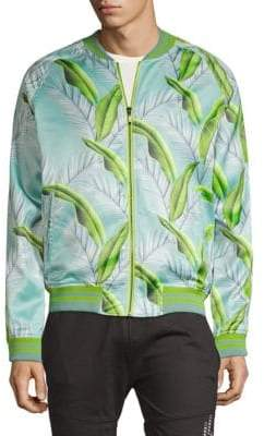 Standard Issue NYC Sublimation Printed Bomber Jacket