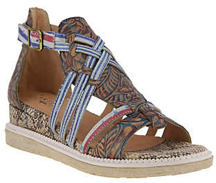Spring Step L'Artiste by Leather Sandals - Tashina