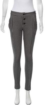 Thakoon Mid-Rise Knit Pants
