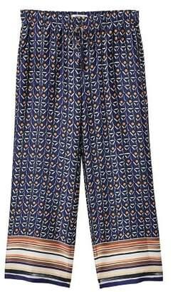 MANGO Combi print pants