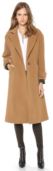 Mason by Michelle Mason Oversized Maxi Coat