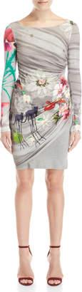 Desigual Dianna Printed Jersey Dress