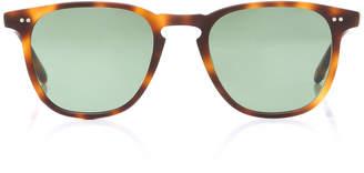 Garrett Leight M'O Exclusive Brooks 47 Round-Frame Acetate Sunglasses