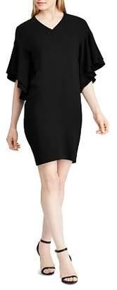 Ralph Lauren Tiered Flutter Sleeve Dress